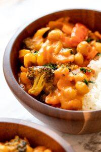 Thai Pumpkin Curry (Vegan, Meal Prep)