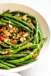 Green Beans Almondine (Easy & Impressive)