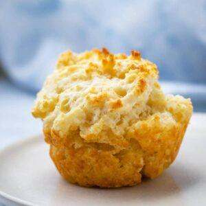 Biscuit Muffins (5-Ingredients!)
