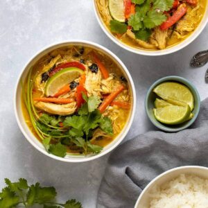 Instant Pot Thai Chicken Curry (Gluten & Dairy Free!)