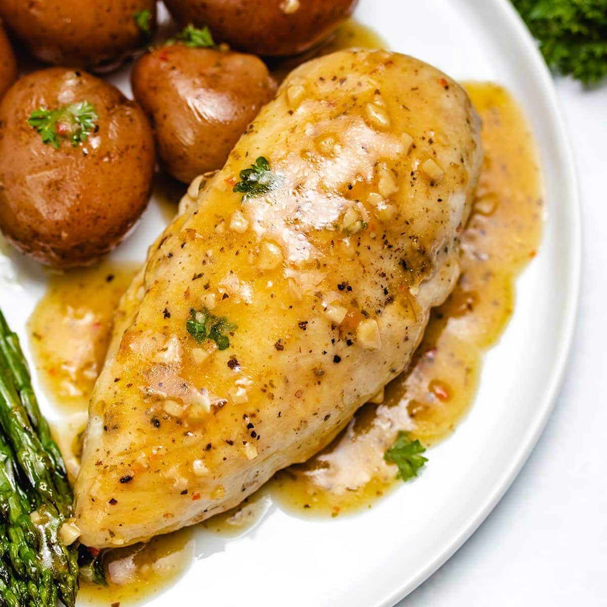 Lemon Garlic Instant Pot Chicken And Potatoes The Recipe Well