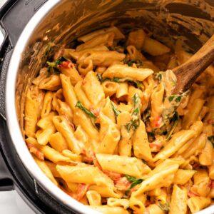 Creamy Instant Pot Vegan Pasta