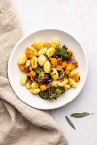 Brown Butter Sheet Pan Gnocchi with Vegetables