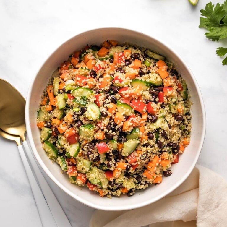 Easy Quinoa Black Bean Salad